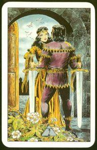 Таро Зеркало Судьбы изображение аркана 2 Мечей