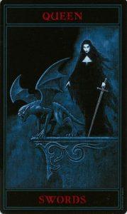 Таро Варго Изображение Аркана Королева Мечей
