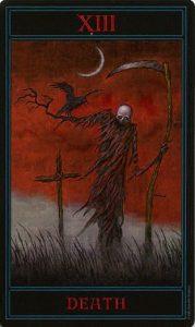 Таро Варго Изображение Аркана 13 Смерть