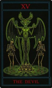 Таро Варго Изображение Аркана 15 Дьявол